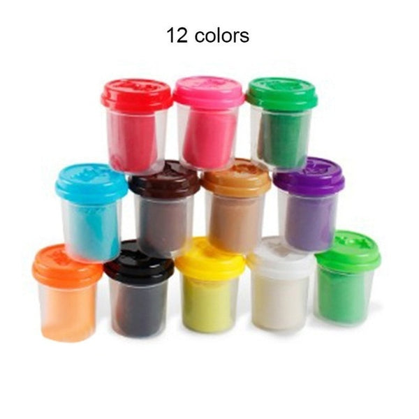 Playdough in Assorted Colors with Tools
