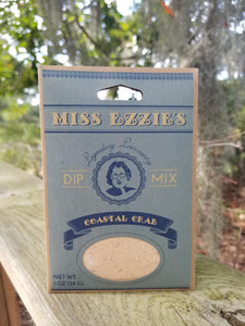 MIss Ezzie's Coastal Crab Dip Mix