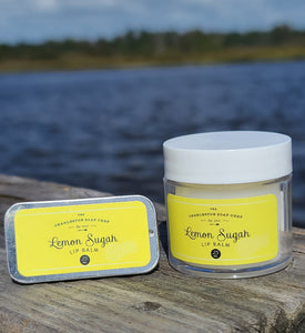Lemon Sugah Lip Balm Set