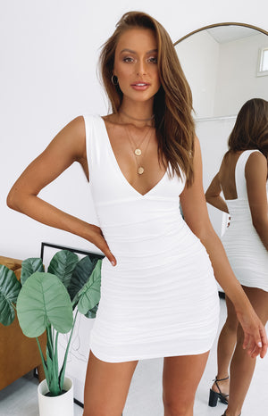 1Oak Party Mini Dress White
