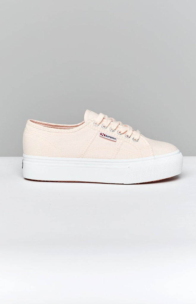 Superga 2790 LINEA Up Down Canvas Sneaker Pink 2