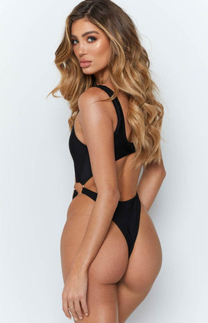 9.0 Swim Amnesia One Piece Black