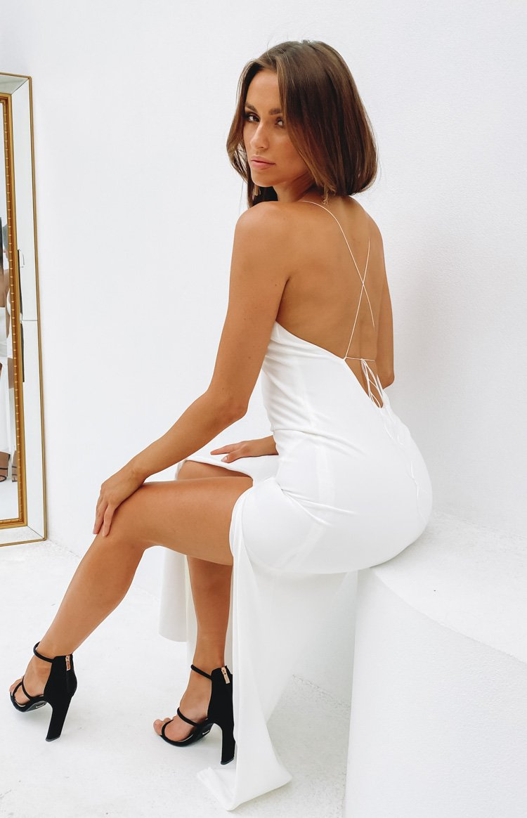Alissa Formal Dress White