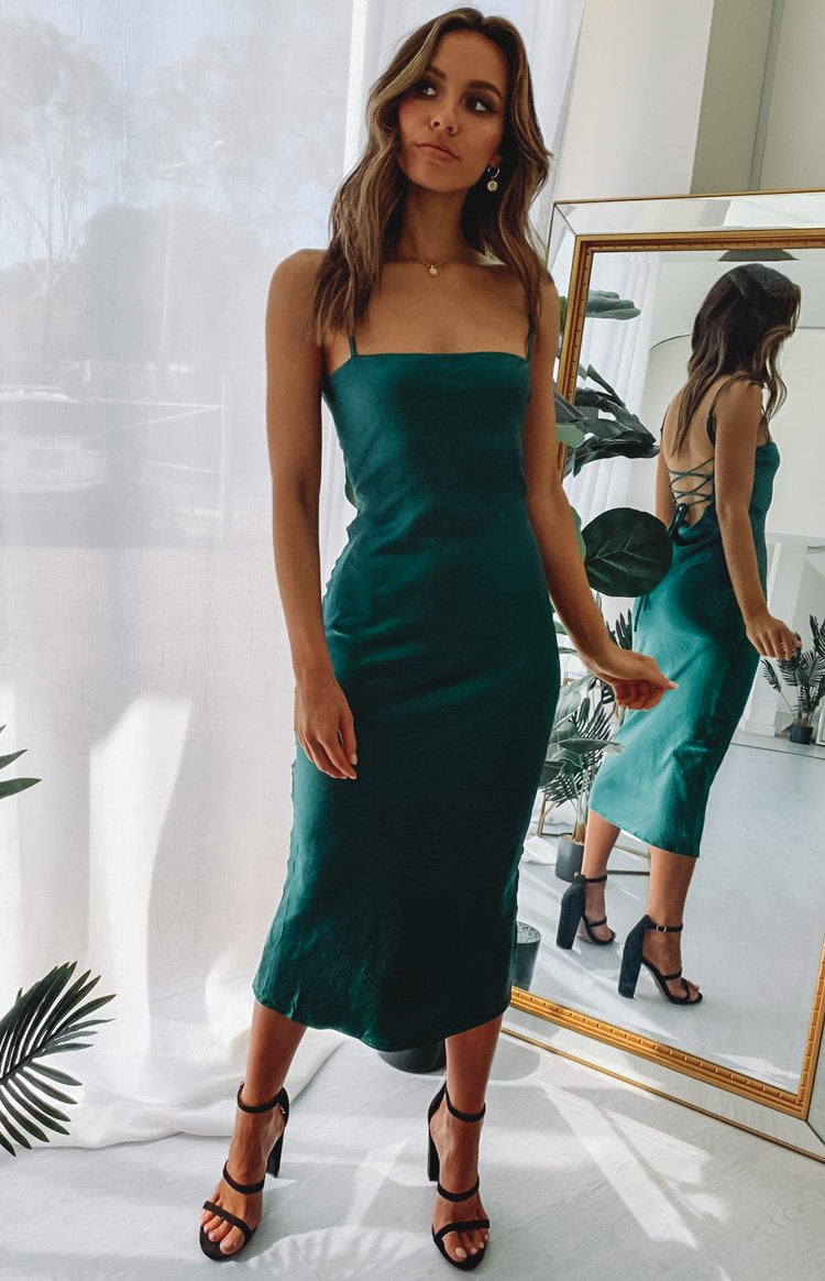 bestof Amaryllis Dress Emerald