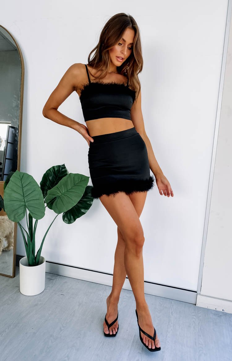 Annette Skirt Black
