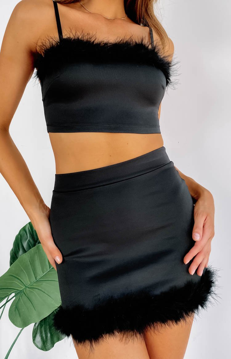 Annette Crop Black
