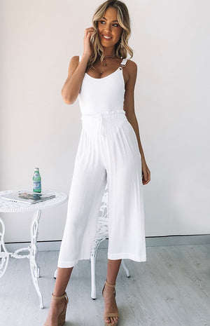 Aria Pants White