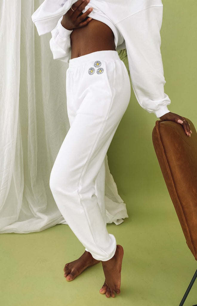 Aspen Lounge Pants White 4