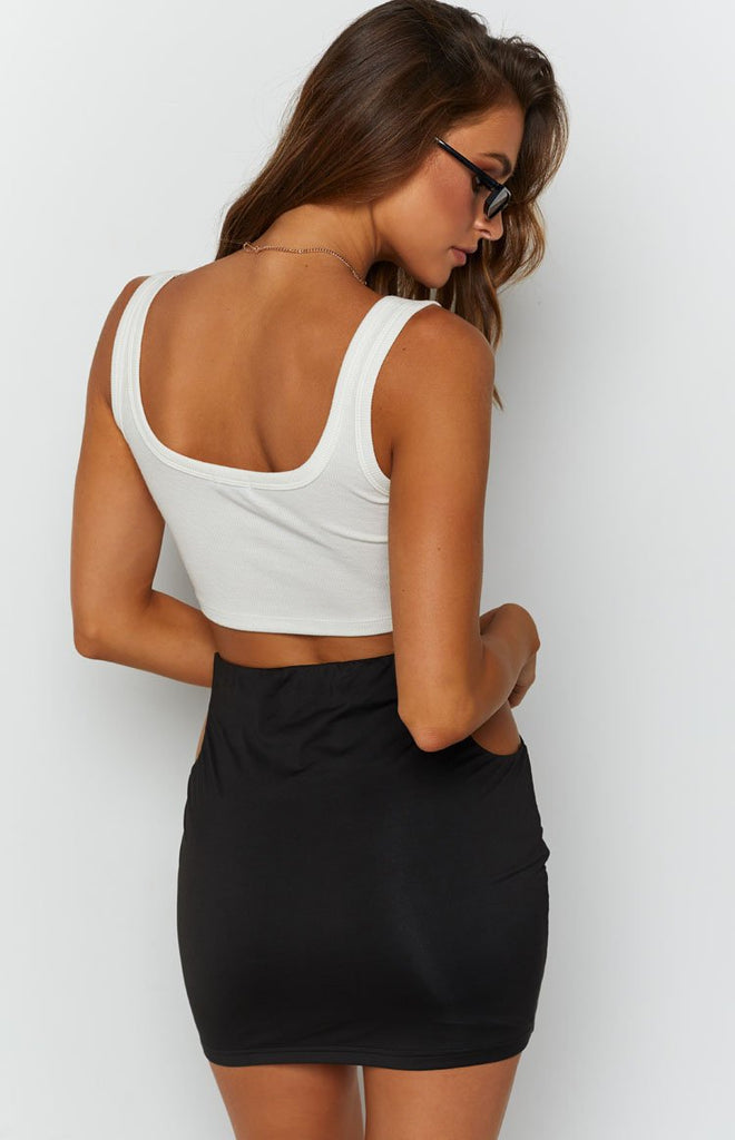 Butterfly Tank Top White 7