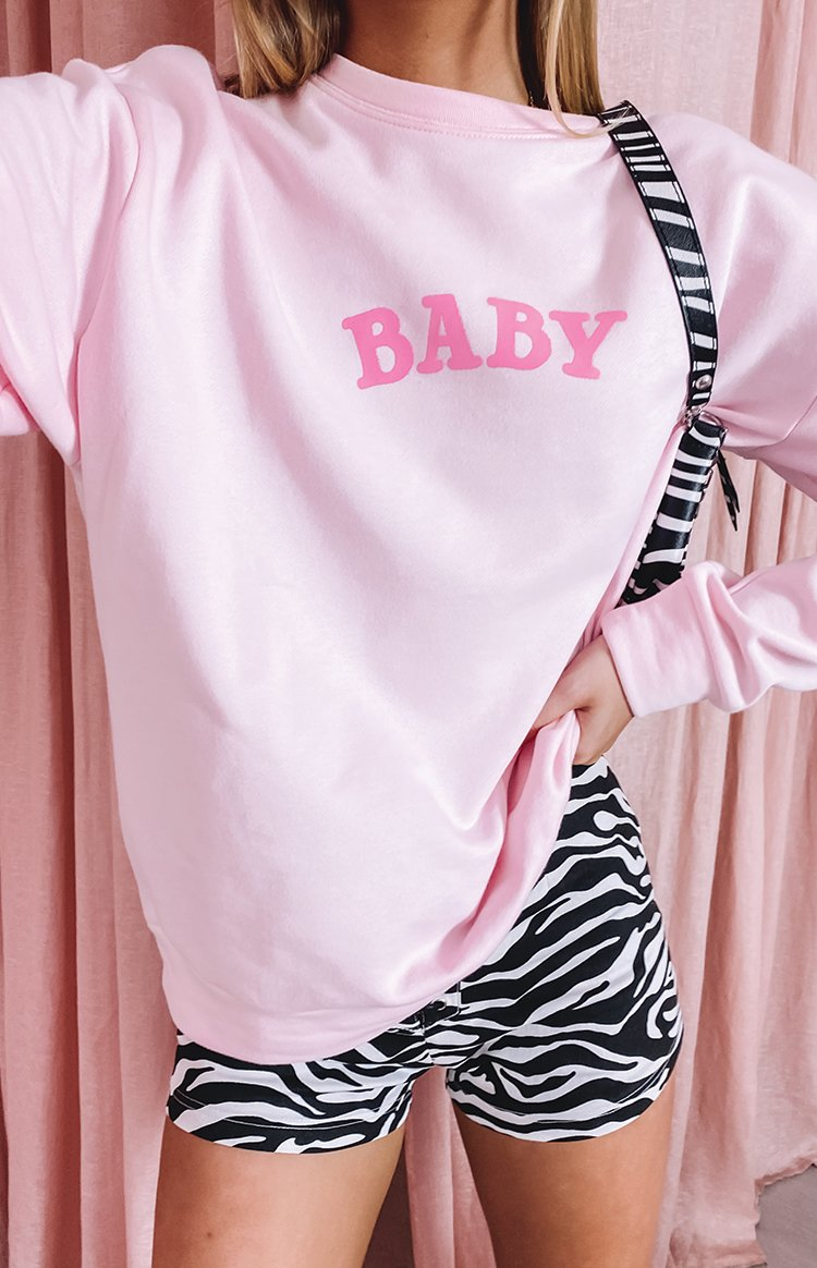 Baby Sweater Pink