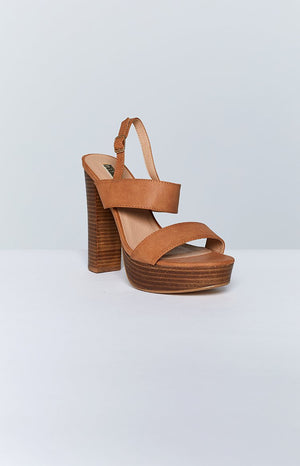 Billini Estella Heels Tan