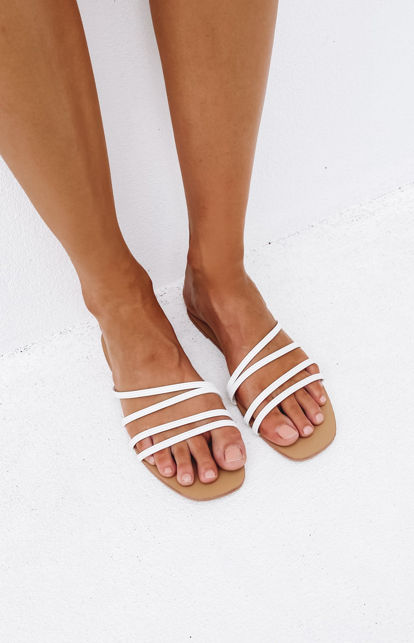 Billini Genevieve Sandals White