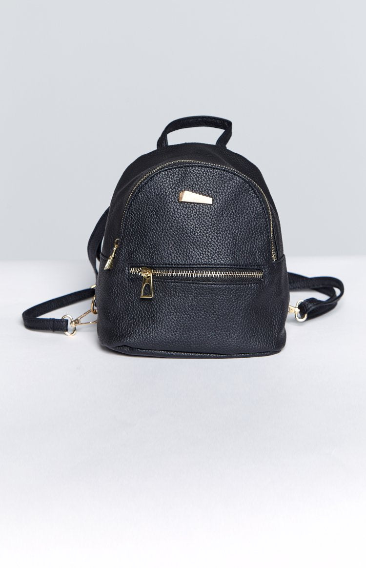 Eclat Boston Mini Backpack Black