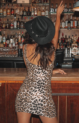 Blondie Dress Leopard