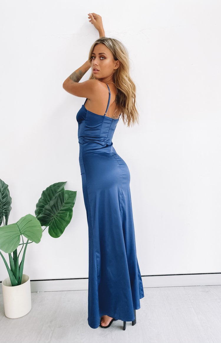 Cay Formal Dress Midnight Blue