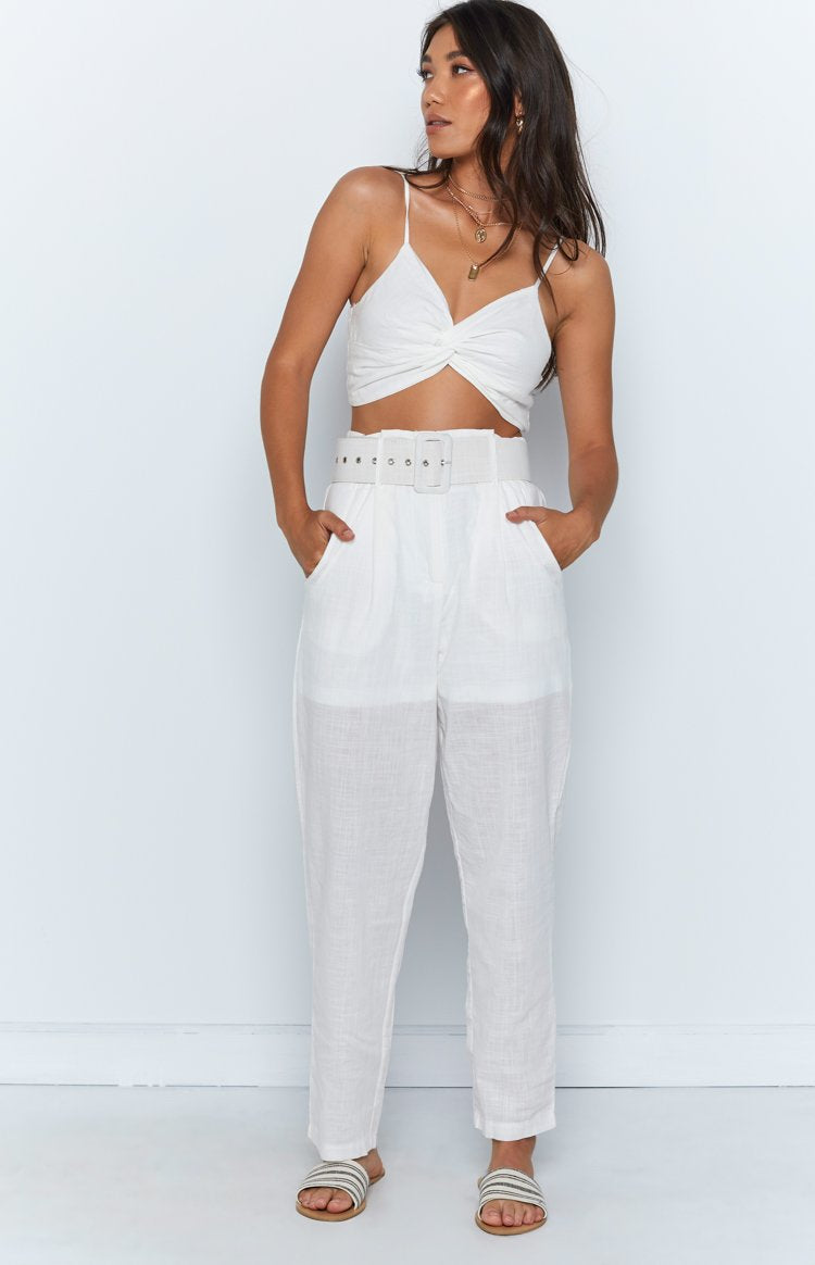 Champagne Brunch Two Piece Set White