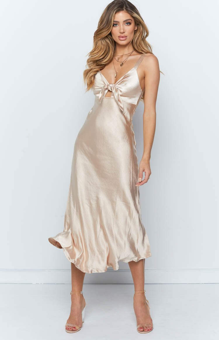 Claudia Dress Gold