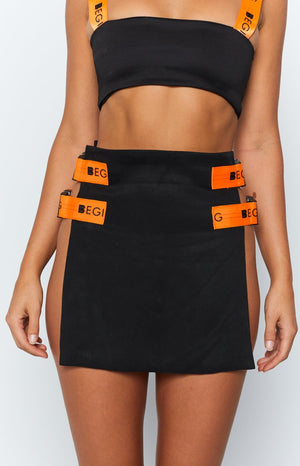 Croft Skirt Black