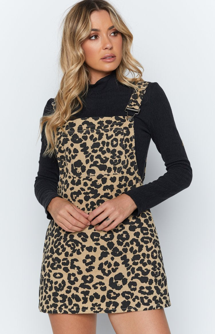 Dance And Dash Dress Leopard