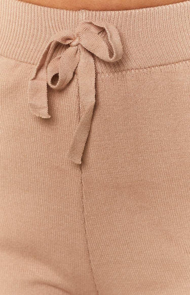 Diaz Knitted Pants Mocha 9