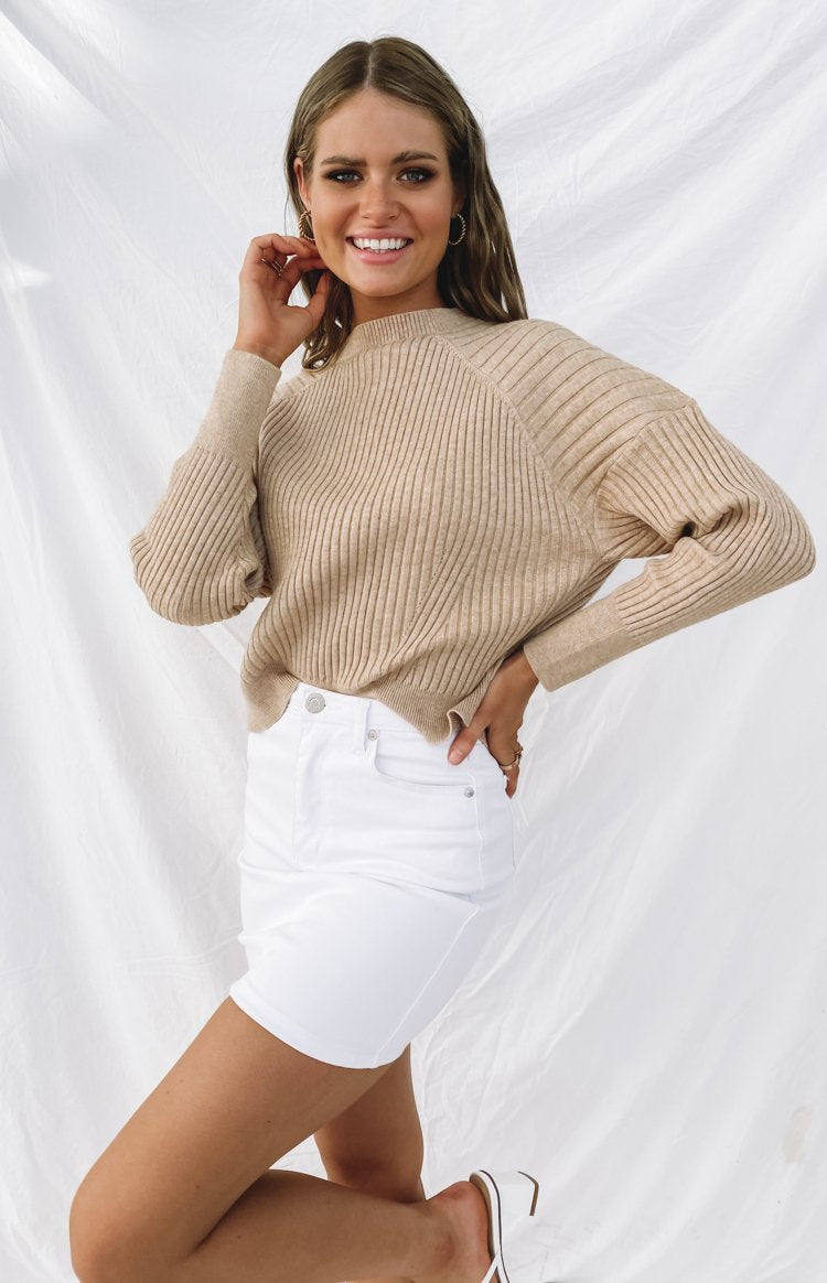 Dream Daily Jumper Beige