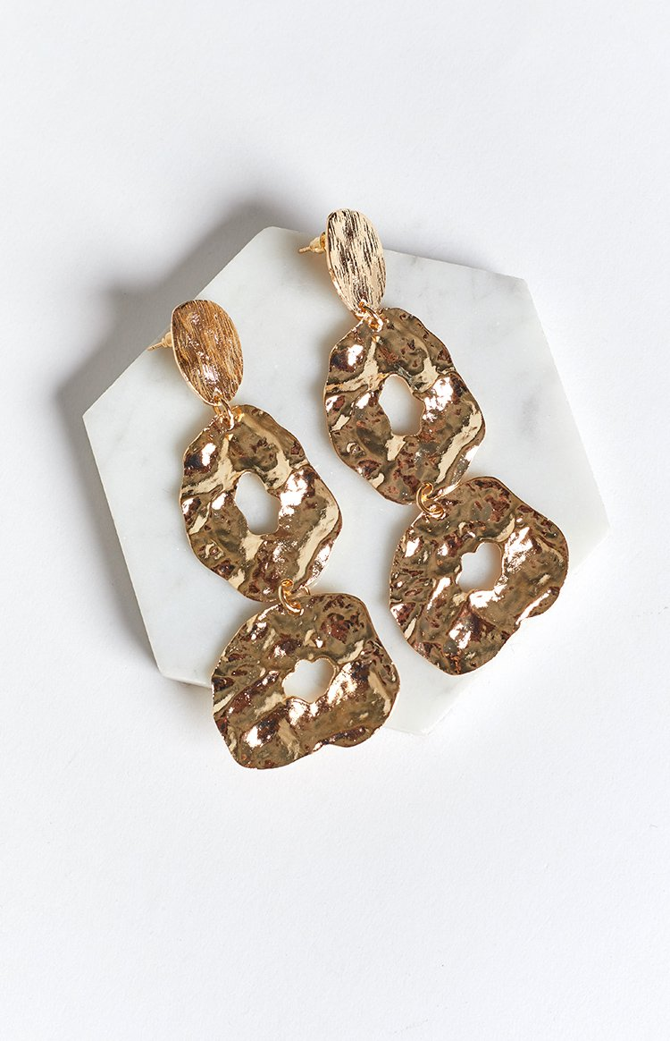 Eclat Adira Earrings Gold