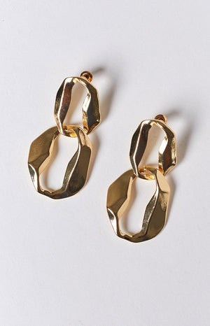 Eclat Adonis Earrings Gold