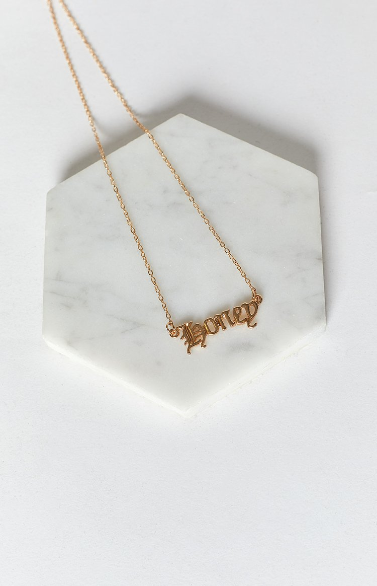 Eclat Honey Necklace Gold