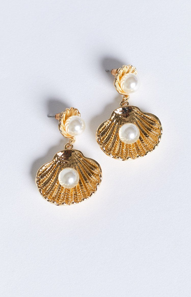 Eclat Maine Earrings Gold