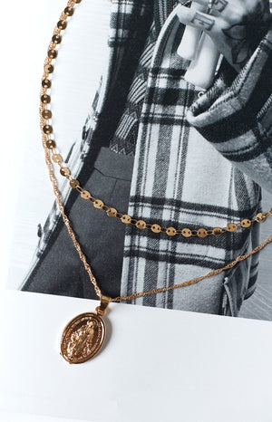 Eclat Veracity Necklace Gold