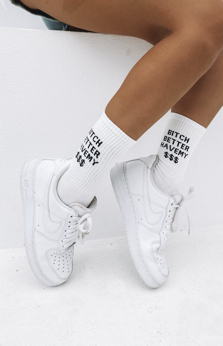 Eclat Run In Socks White