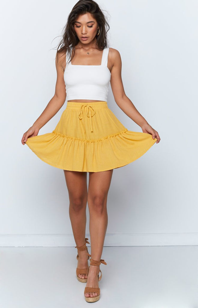Effie Skirt Yellow