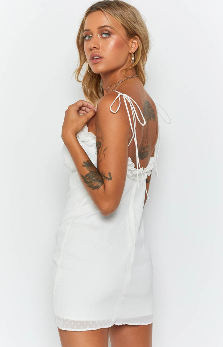 Ellie Dress White