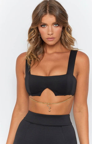 Eve Crop Black