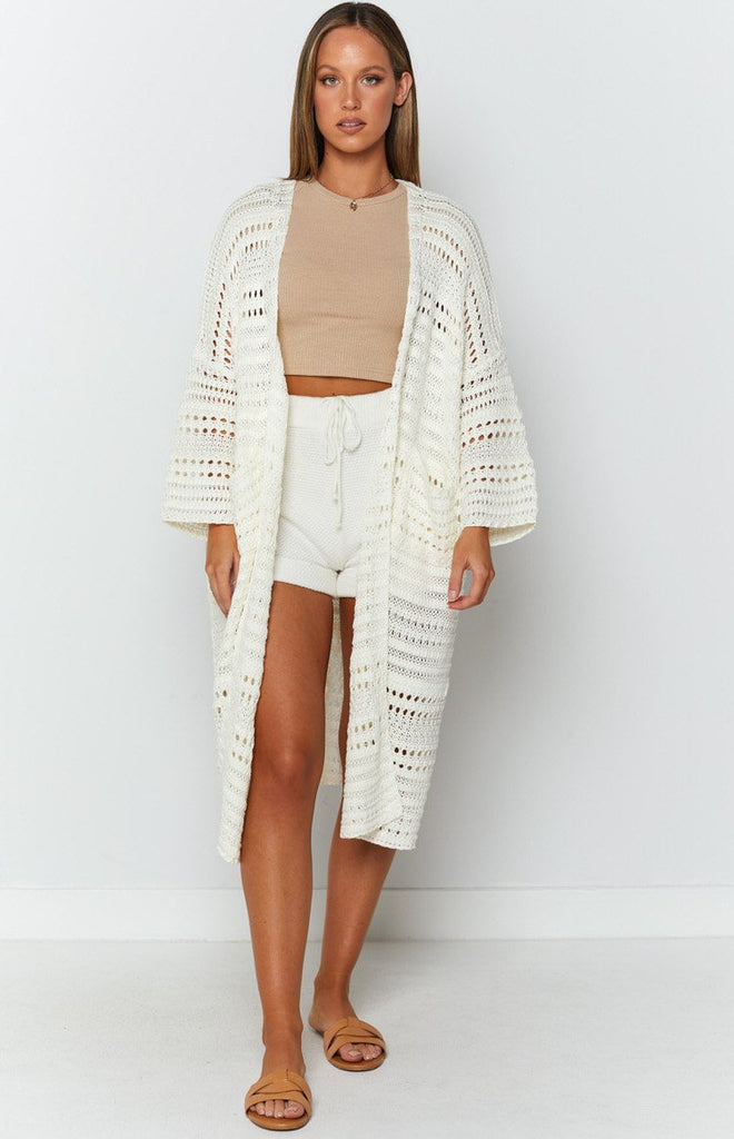 Feel So Close Cardigan Cream 3