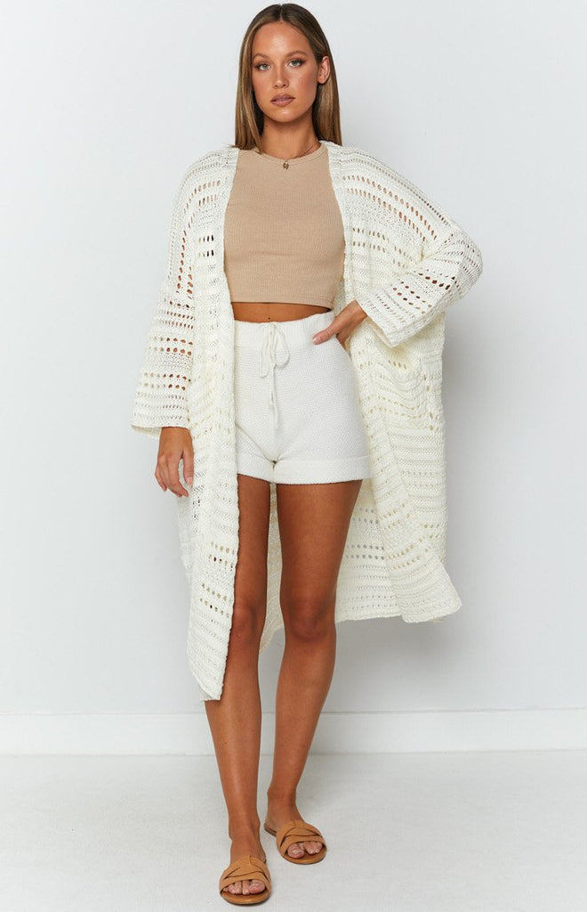 Feel So Close Cardigan Cream 4