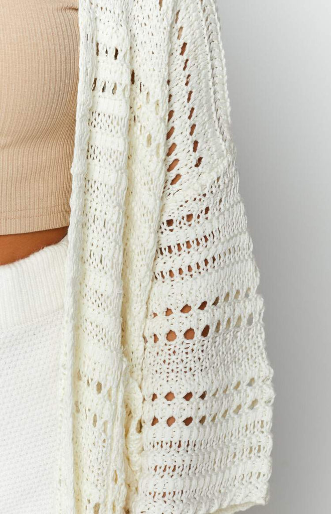 Feel So Close Cardigan Cream 7