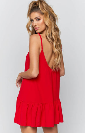 Fossil Dress Red