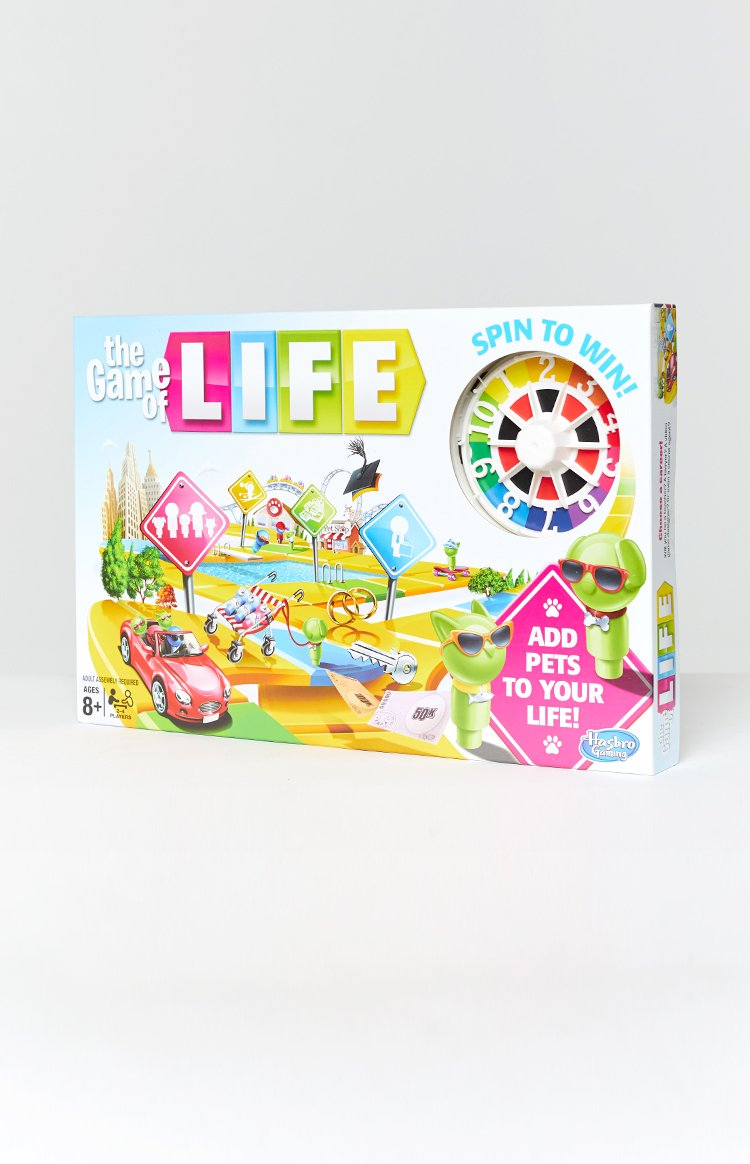 Game of Life Original with Pets Edition Board Game