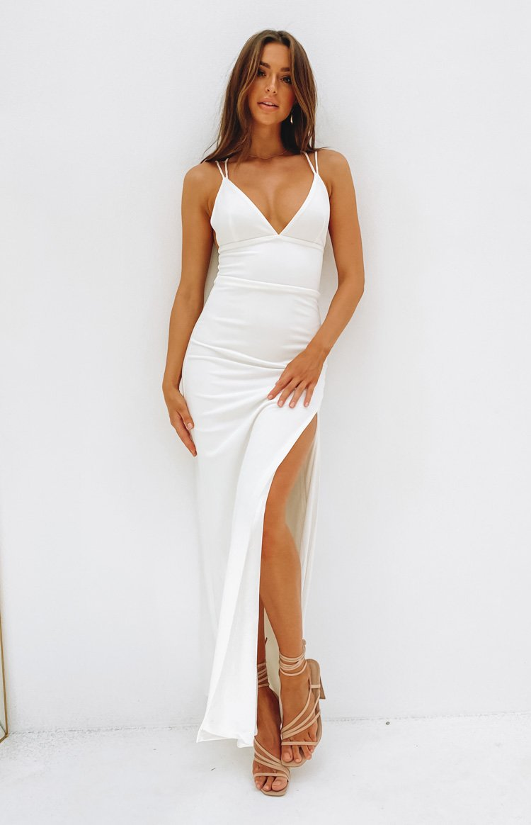 dresses-20200401 Giovanni Formal Maxi Dress White