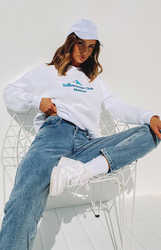 By Dyln Harlow Mom Jeans Blue 15