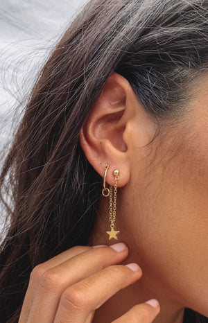 Eclat Stellar Earrings Gold