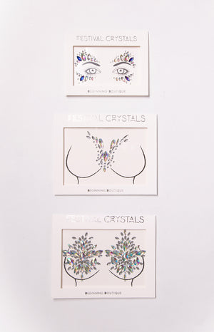 Eclat Ultimate Festival Body Jewels 3 Pack