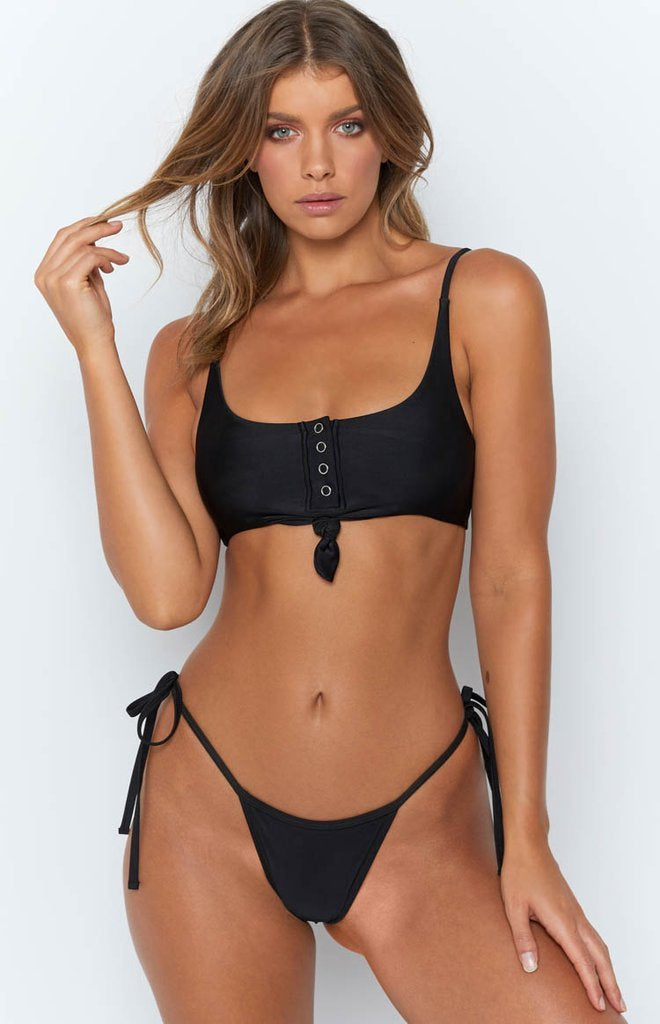 9.0 Swim Rio Bikini Set Black