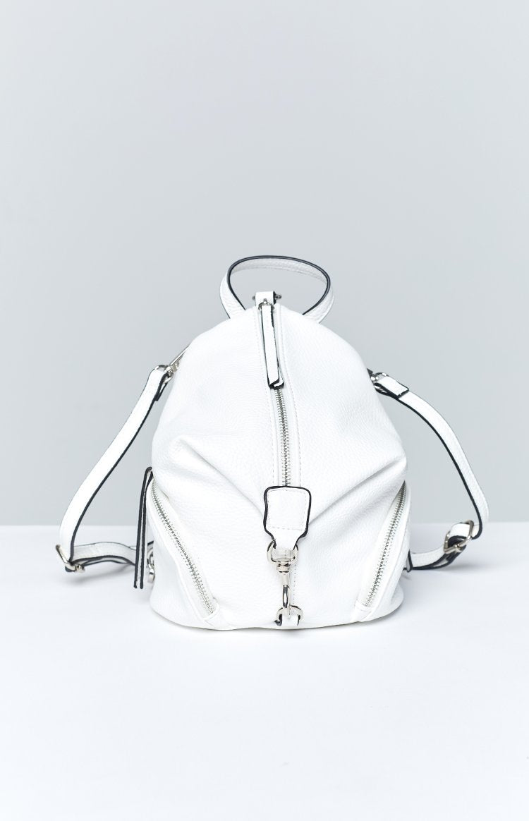 Peta & Jain Indie Mini Back Pack White