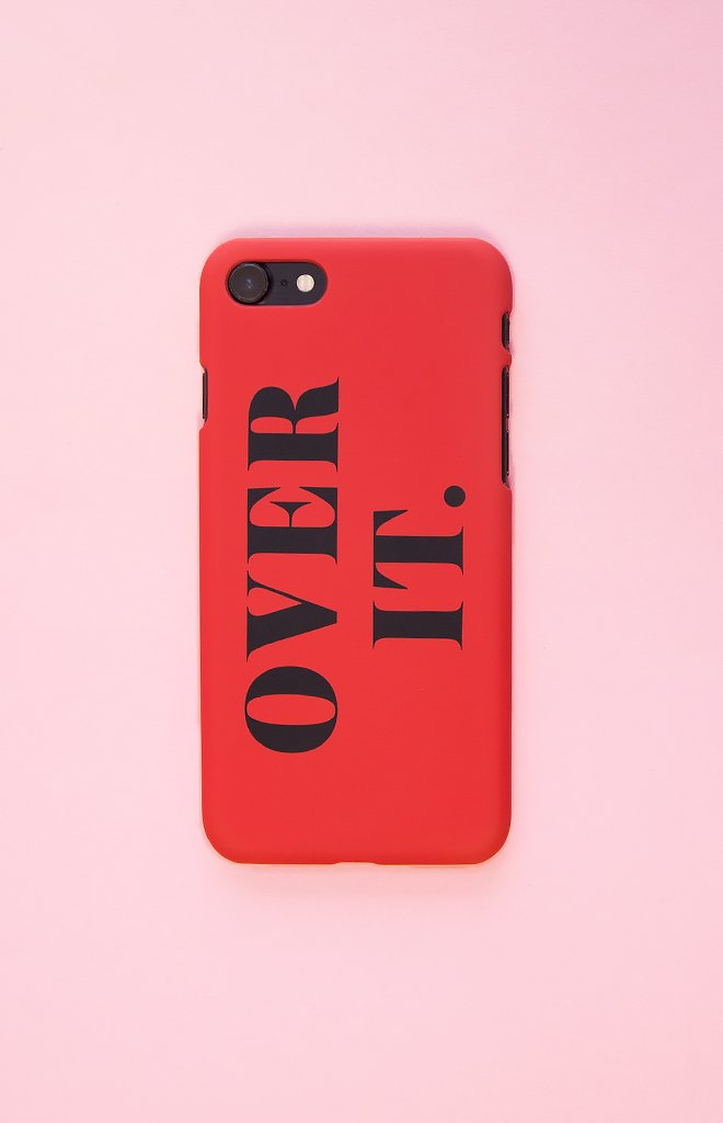 Michael x Shani Over It iPhone 7 Plus Case Red