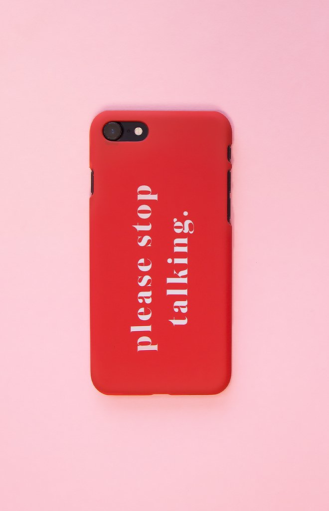 Michael x Shani Please Stop Talking  iPhone 7 Plus Case