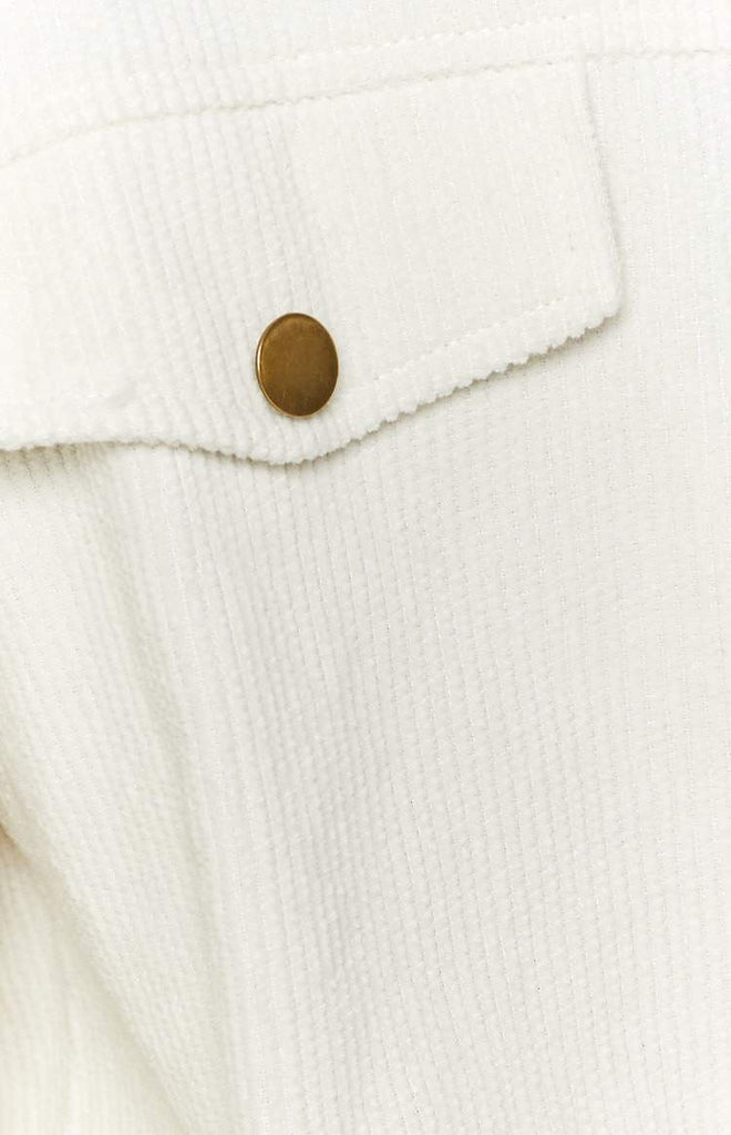 Jacey Cord Jacket White 8