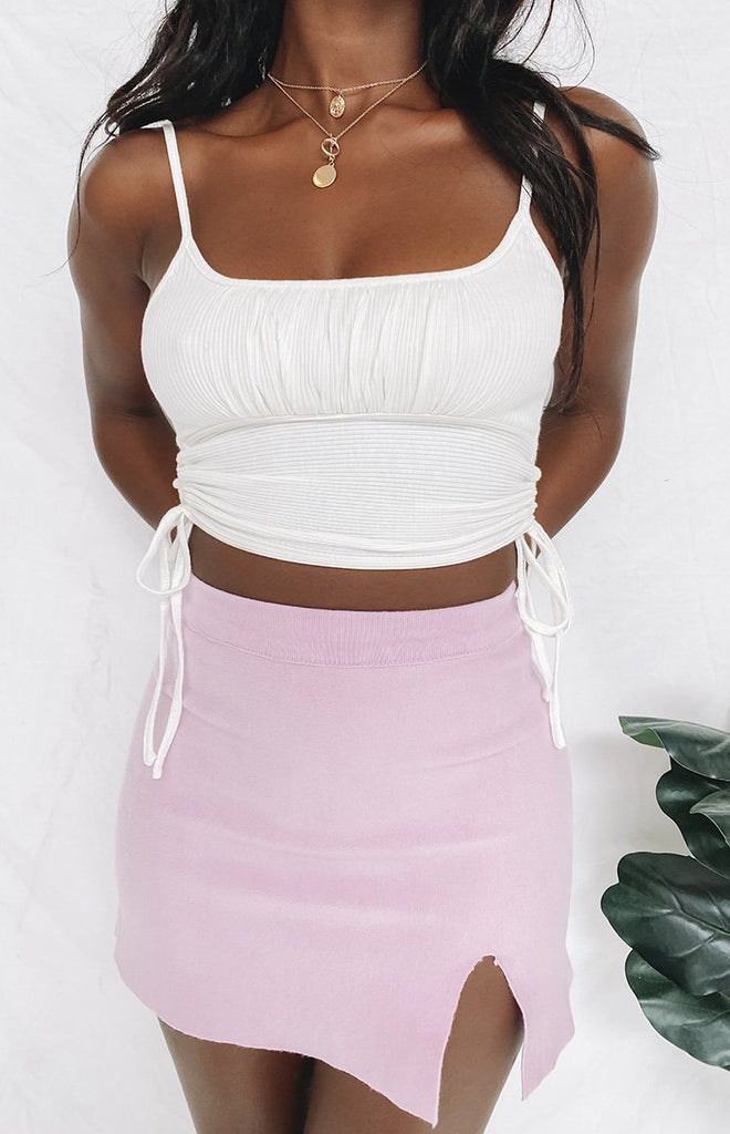 Kalea Crop Top White 12