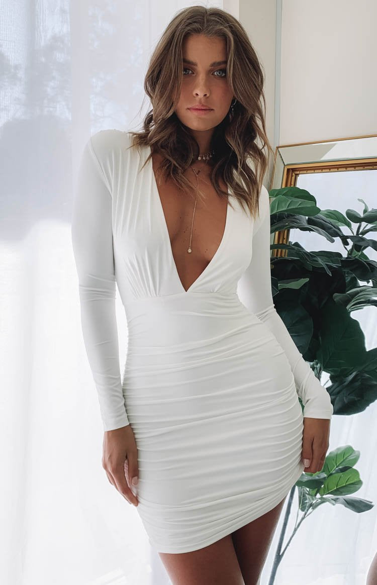Kali Dress White